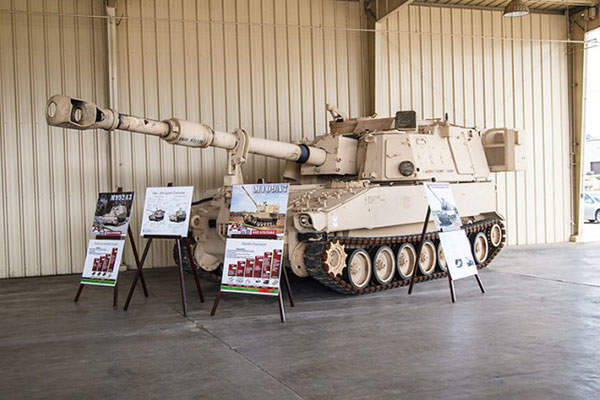 The Paladin M109A7 entered into low rate initial production (LRIP) in May 2014. Image courtesy of Stephen Gross.