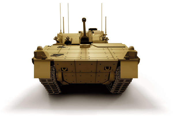 The Scout SV will replace the CVR Scimitar light tanks currently in service. Image courtesy of General Dynamics UK.