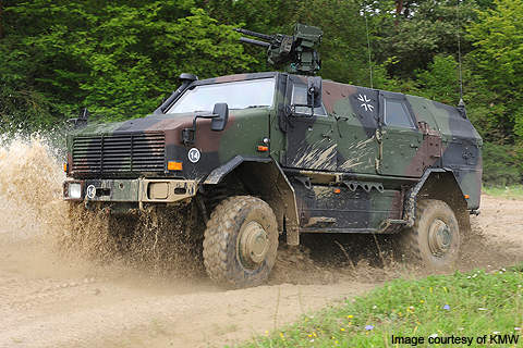 As of 2010, over 800 Dingo 2 vehicles are under contract with five different countries.