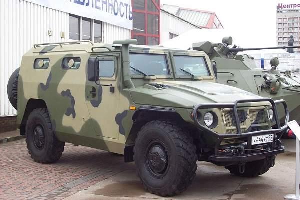 GAZ-233036 SPM-2 offers NATO STANAG 4569 level 2 ballistic protection.