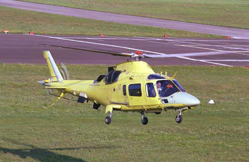 The South African Air Force intend to use A109 light helicopters