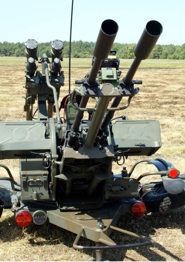 Anti-aircraft missile system GROM