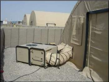 field hospital air conditioning