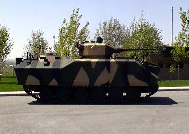 The Armoured Combat Vehicle - Stretched (ACV-S), developed by FNSS.