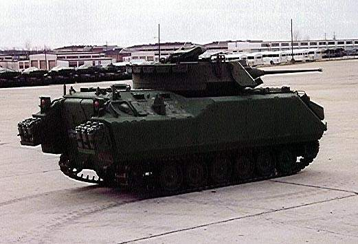 The ACV-S which is powered by a diesel engine capable of 400hp