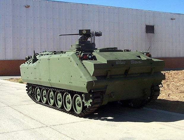 The ACV-S with SWARM turret features a 12.7mm gun