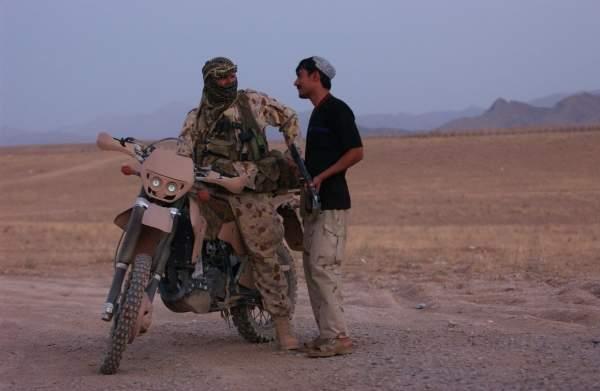 Military motorbike
