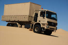 All-wheel Drive Truck from Mercedes Available in Various Drive Formats