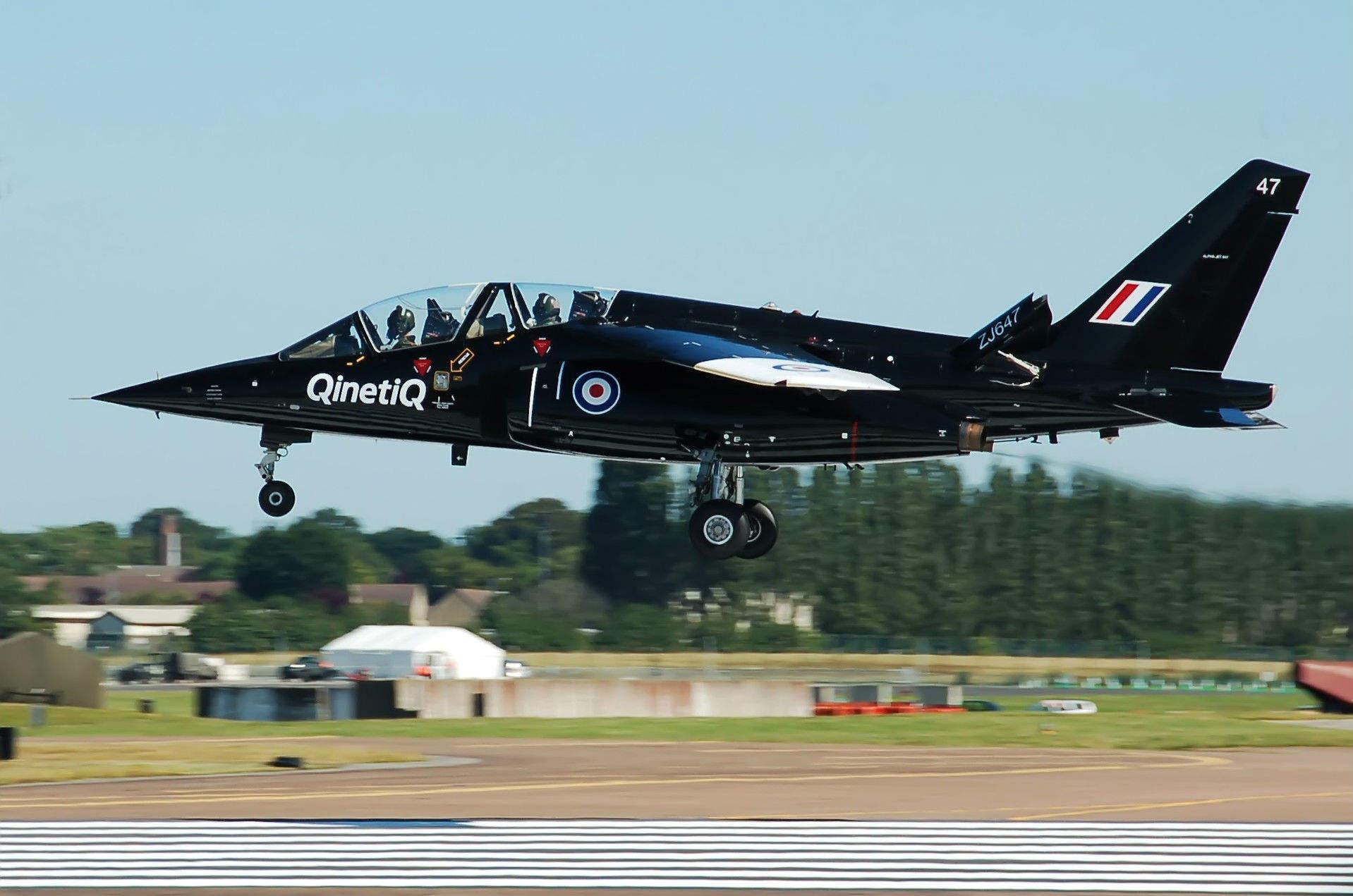 Qinetiq aircraft flying plane