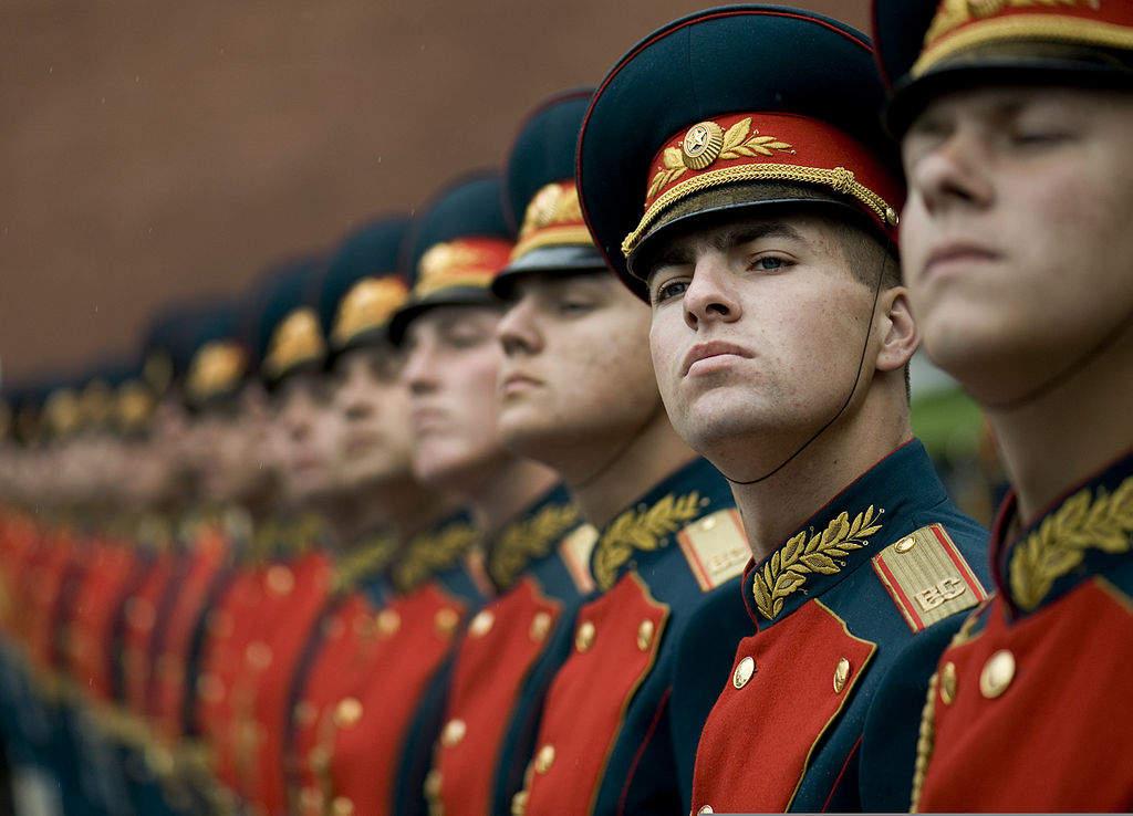 Russian Guard of honour
