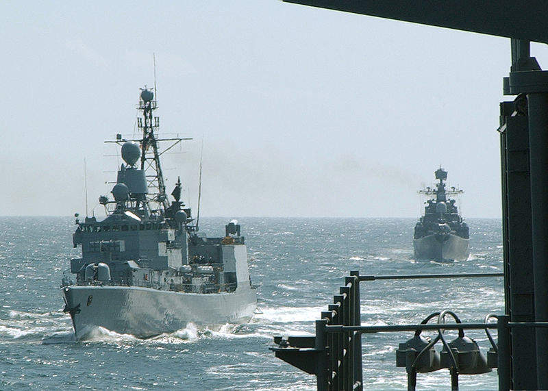 German Navy and Russian Navy