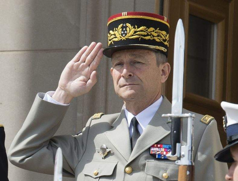 Pierre de Villiers, France's joint chief-of-staff