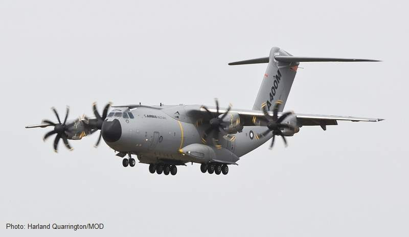 Airbus A400M airlifters
