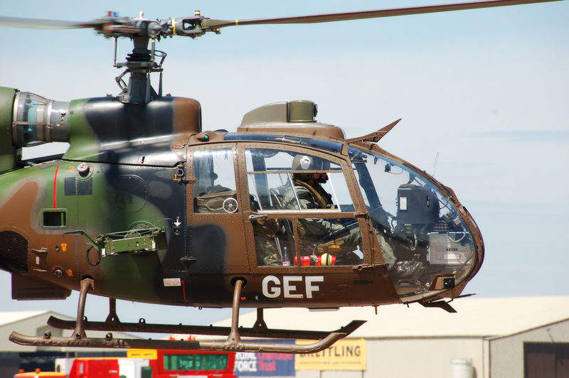 French Army helicopters