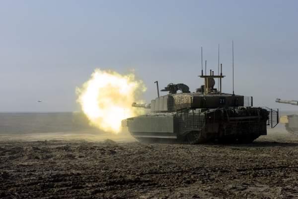 Challenger II tank