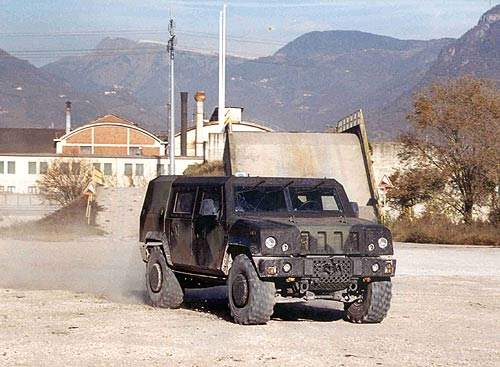 UK Army command and liaison vehicle the Panther CLV