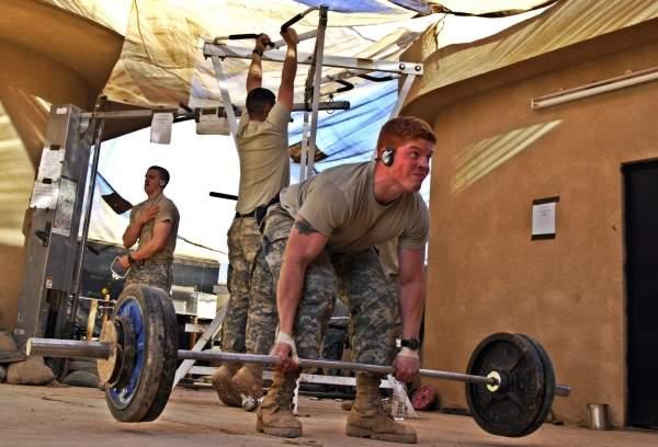 Soldier gym