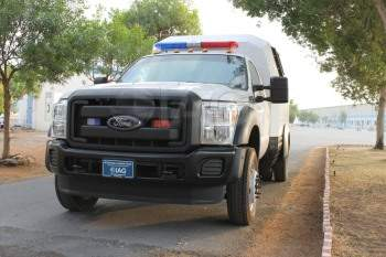 Armored Ford F-550 Ambulance