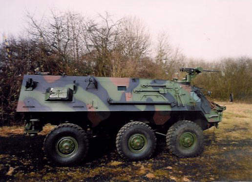 The Fuchs 2 armoured personnel carrier is a new version of the 6x6 Fuchs (Fox) Transportpanzer 1.