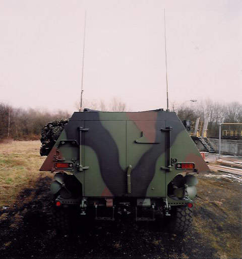 The height of the rear crew compartment has been increased by 145mm.