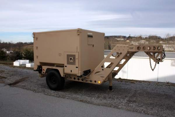 Fifth-Wheel High Mobility Tactical Trailer