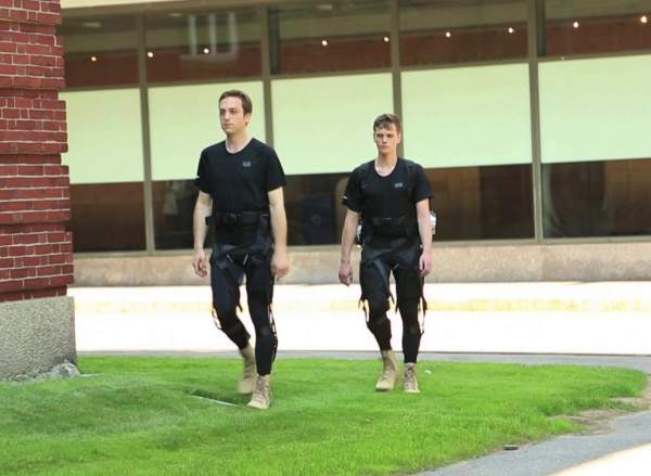 Harvard DARPA suit
