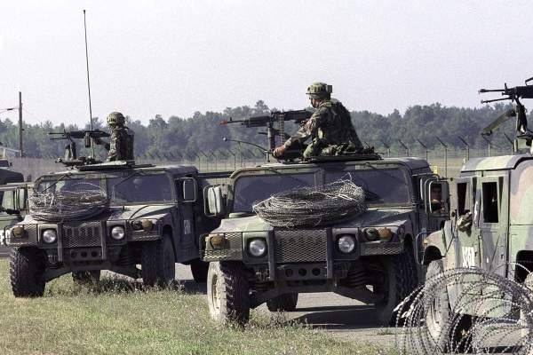 Humvee training