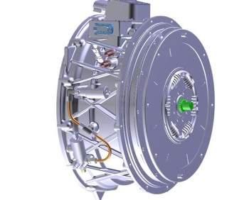 integrated motor generator