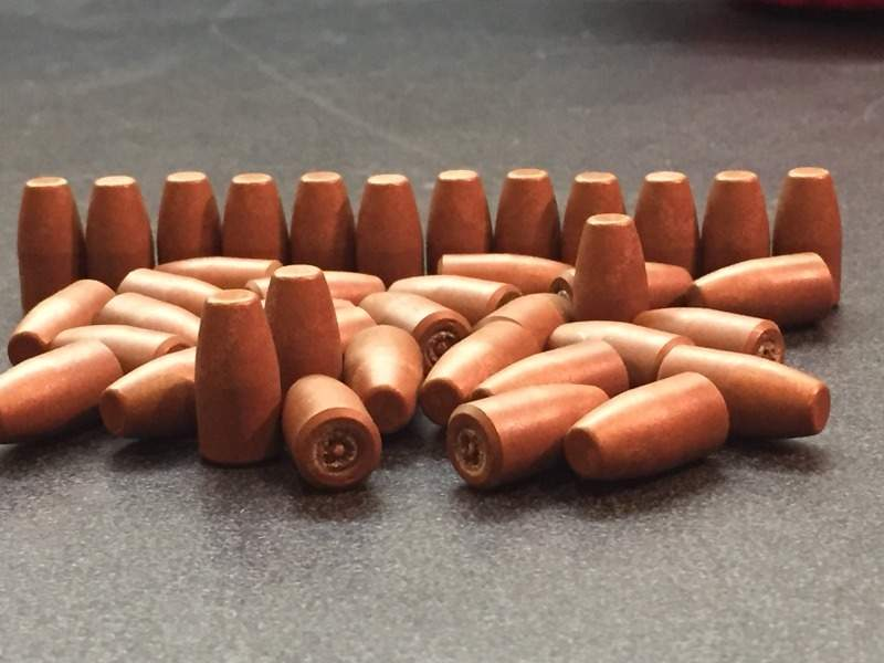 9mm Frangible Projectiles