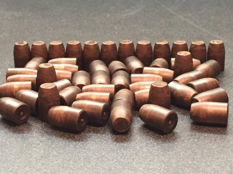 0.40 cal frangible projectiles