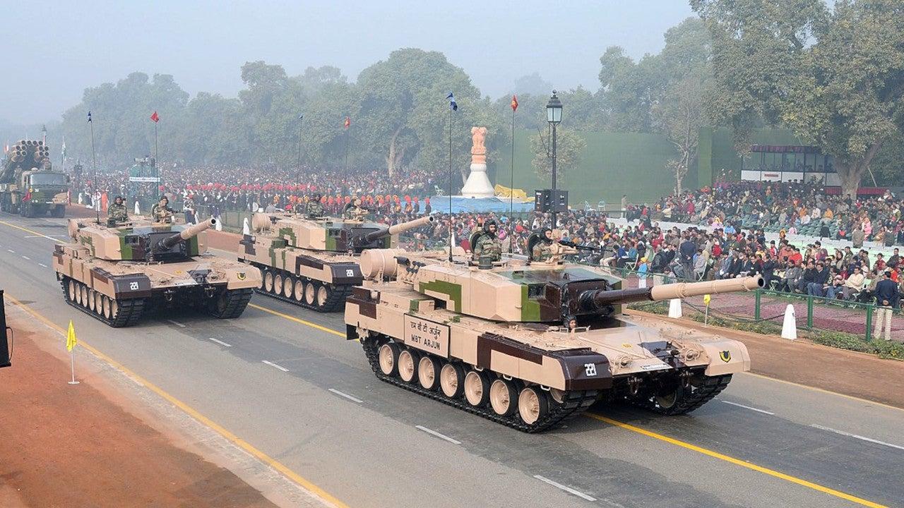 Image 1-Arjun Main Battle Tank