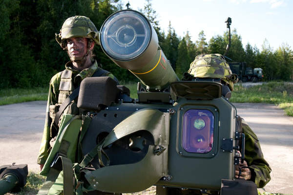 RBS 70 NG is a very short range air defence (VSHORAD) missile system. Copyright Saab AB.