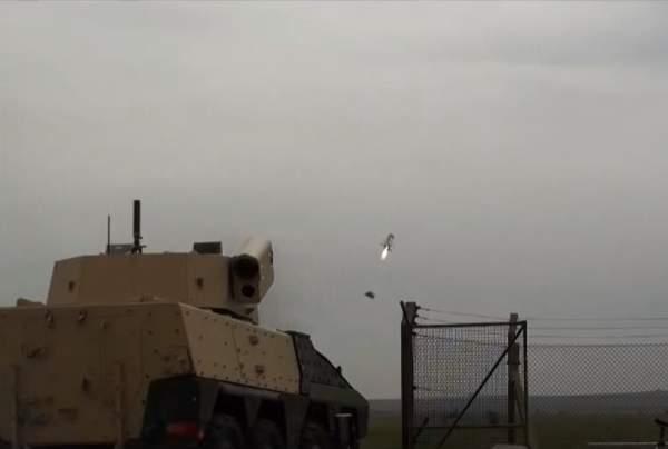 Javlin missile turret