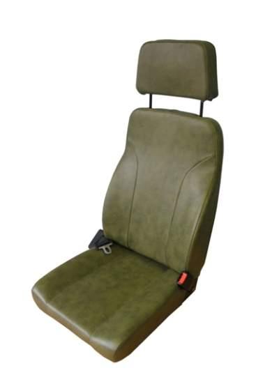 Lightweight mono-frame seat