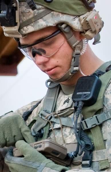 Soldier sharing