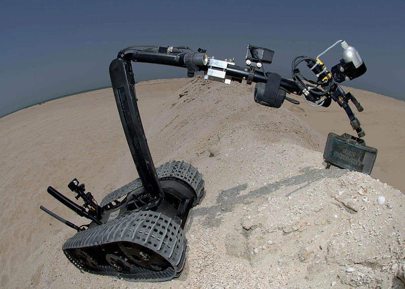 Talon 3B robot