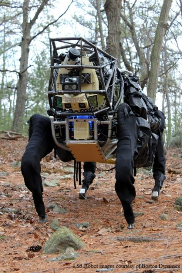 The Legged Squad Support System (LS3) robot
