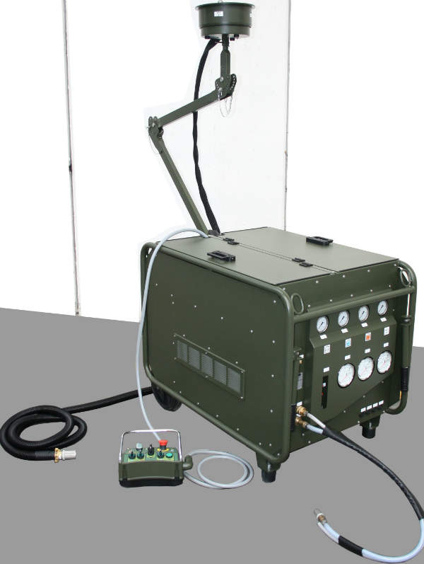 decontamination systems for defence environments