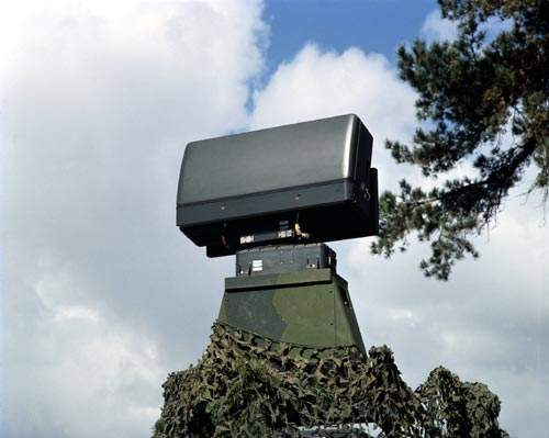 The Ericsson HARD 3D search and acquisition radar.