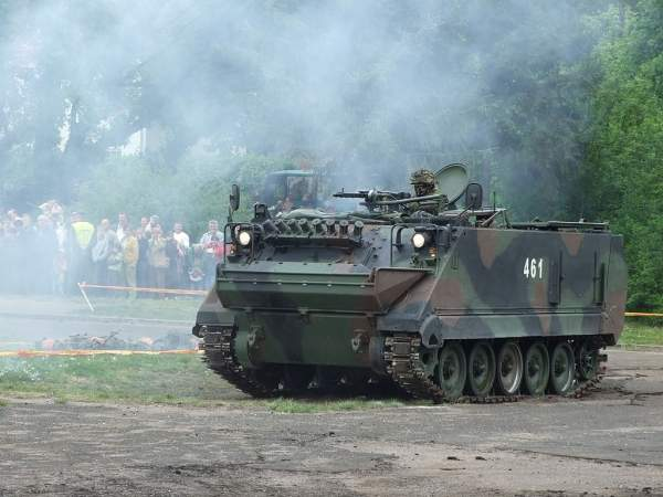 Lithuania Army M113