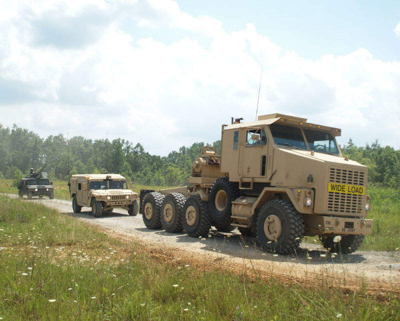 army automated driving technology truck OshKosh Terramax