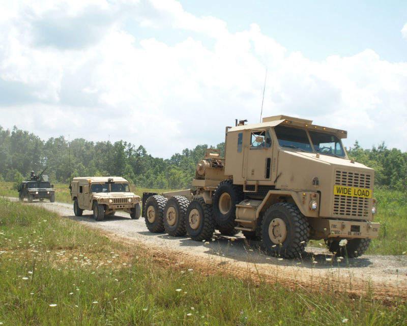 army automated driving technology truck OshKosh Terramax
