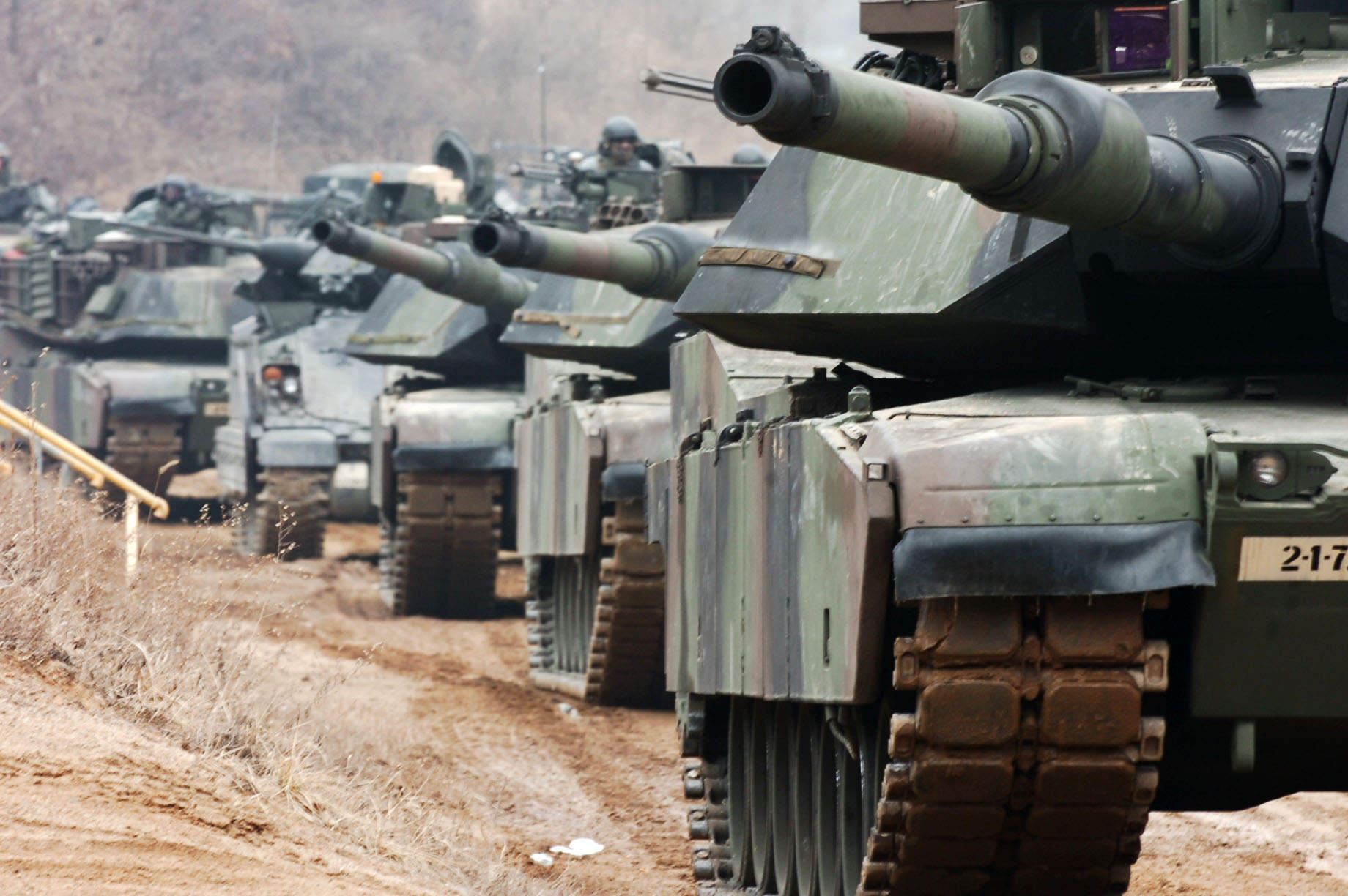 M1A1 Abrams. Courtesy US Army.