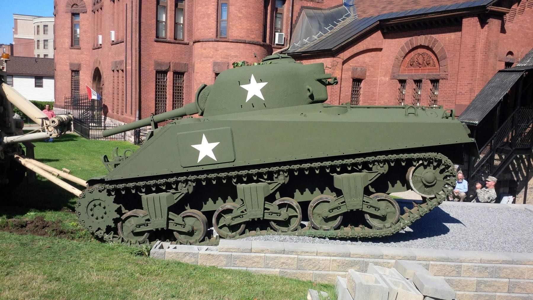 M4 Sherman. Courtesy US Army.
