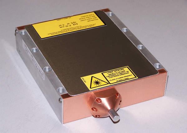 MIL-spec pulsed diode laser module