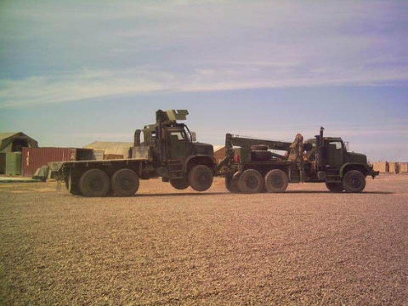 army automated vehicle driving truck Oshkosh TerraMax