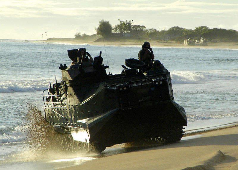 landing craft air cushion US Army navy troops USN