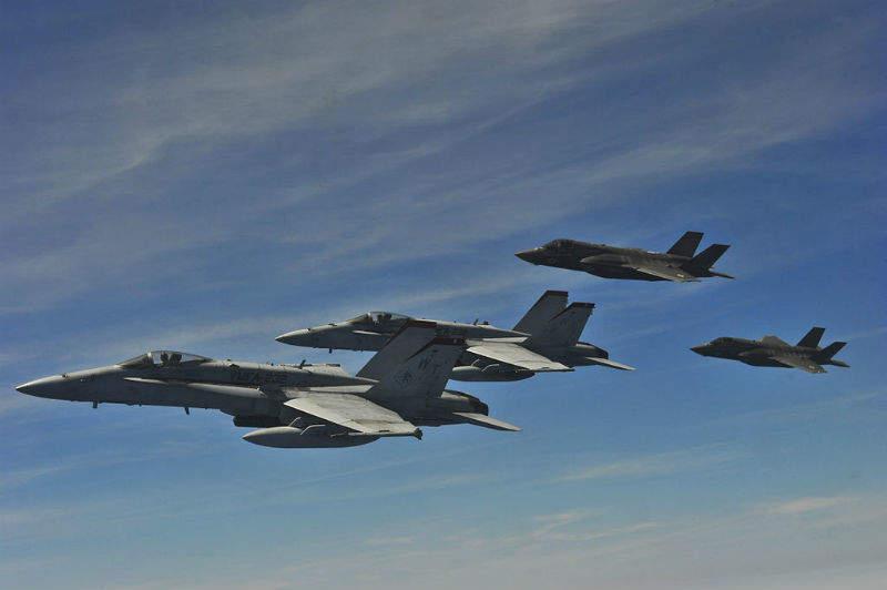 USMC aviation US marine corps army navy aircraft hornets