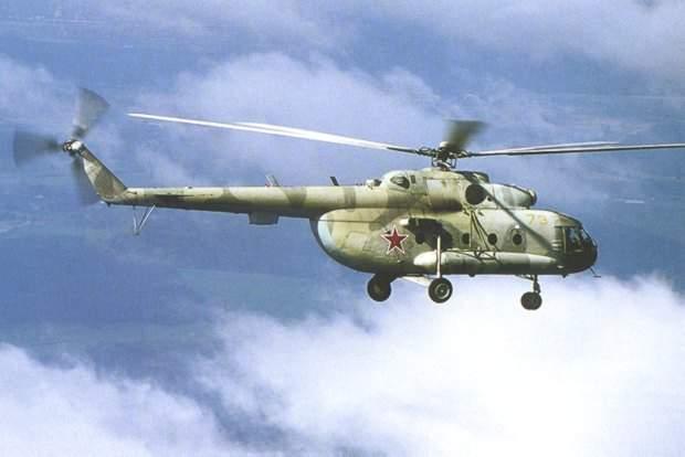 Mi-8 Hip multi-purpose helicopter in flight