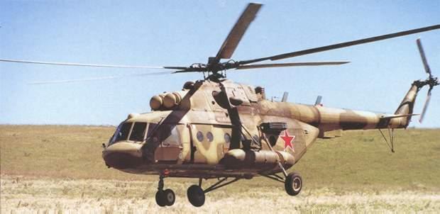 Low flying Mi-17MD Russian market designation Mi-8MTV5